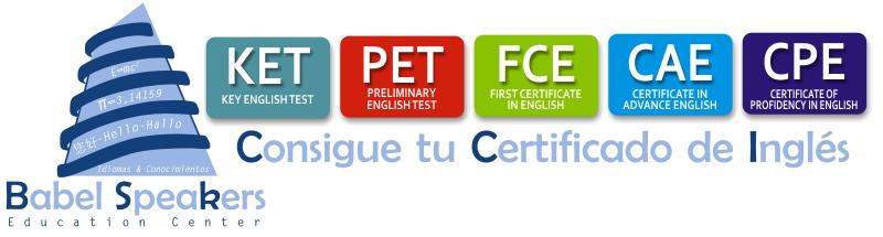 Consigue tu Certificado de Inglés