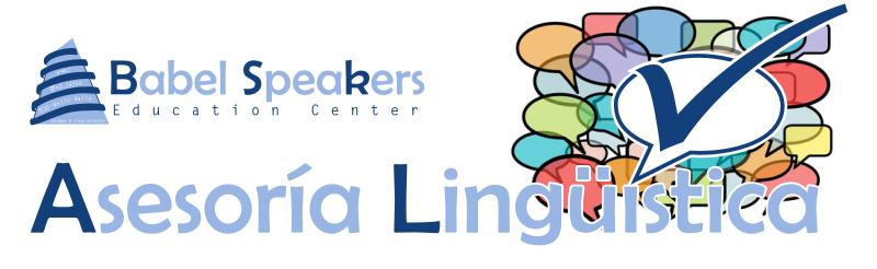 Servicio de asesoría lingüística a empresas