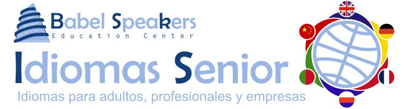 Babel Senior. Idiomas para adultos, profesionales y empresas.