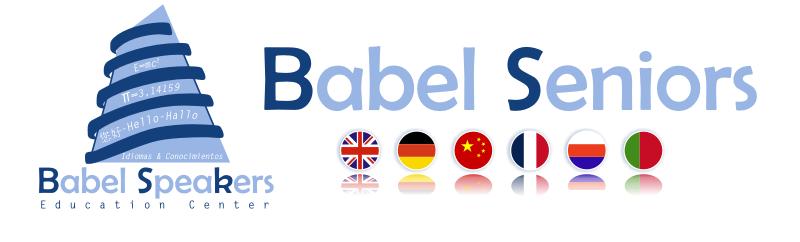 Babel Seniors. Idiomas para adultos, profesionales y empresas